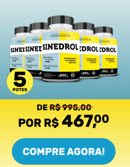 sinedrol é seguro