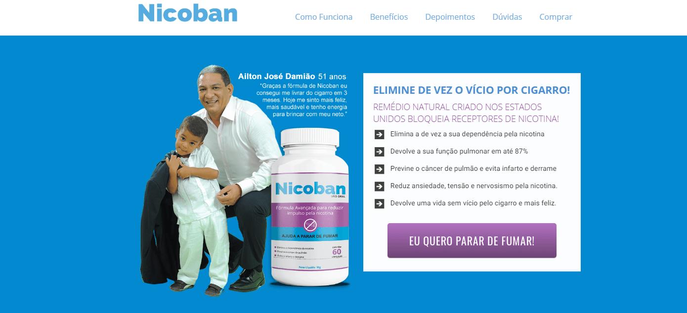 Nicoban Comprar passo 1
